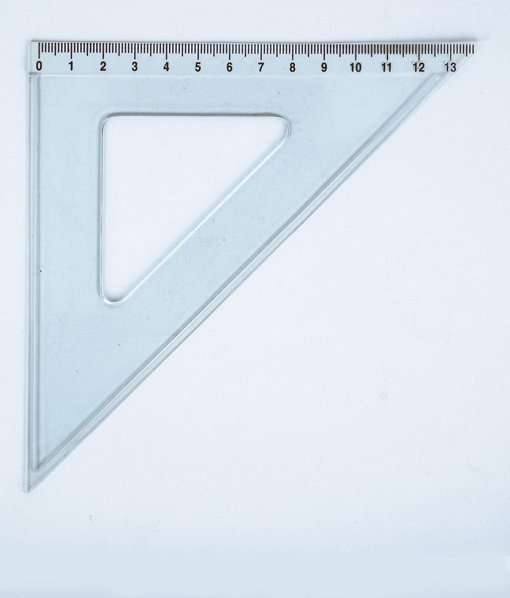 Équerre 45° – hypoténuse 20cm E 20/45