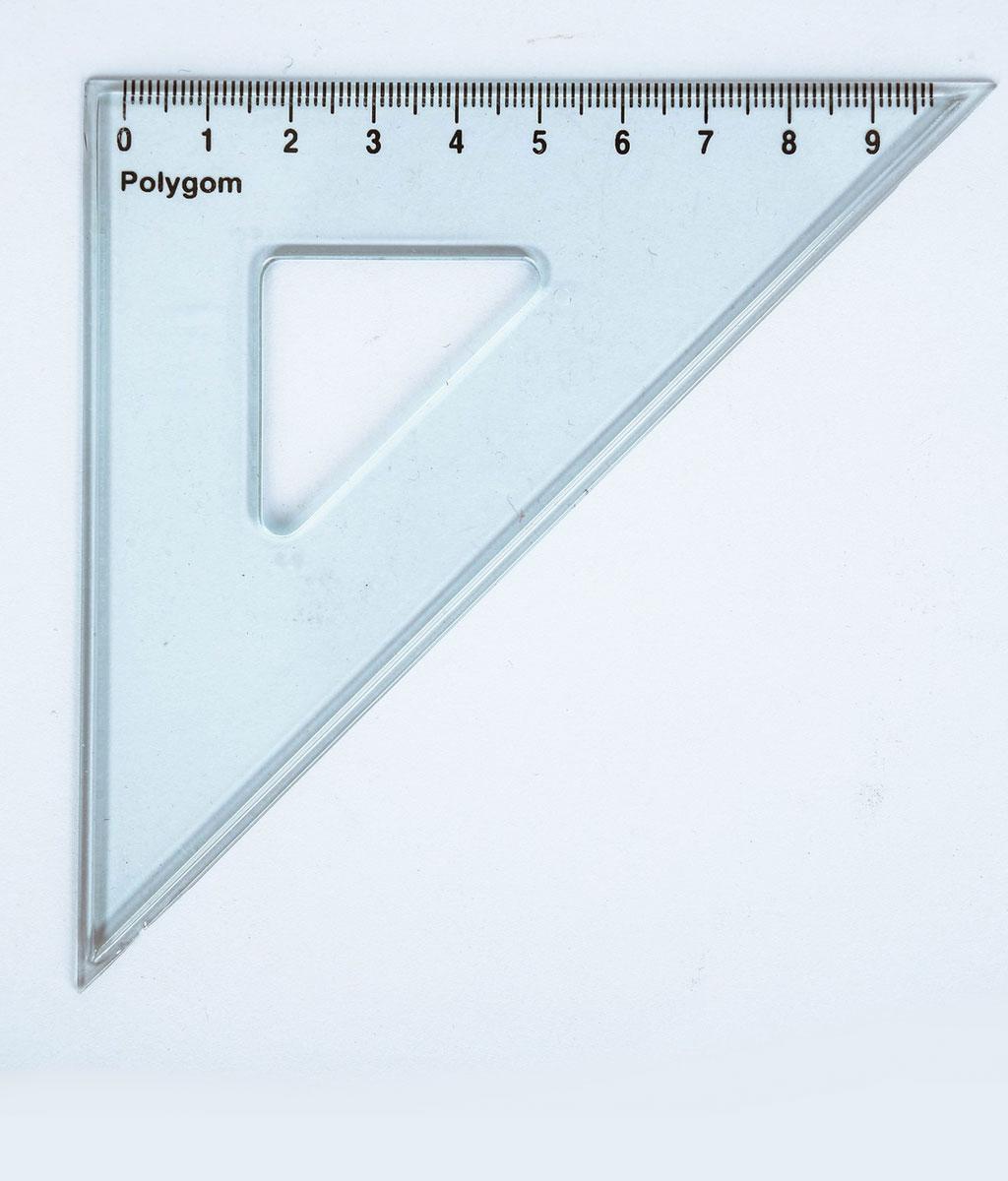 Équerre 45° – hypoténuse 15cm E 15/45