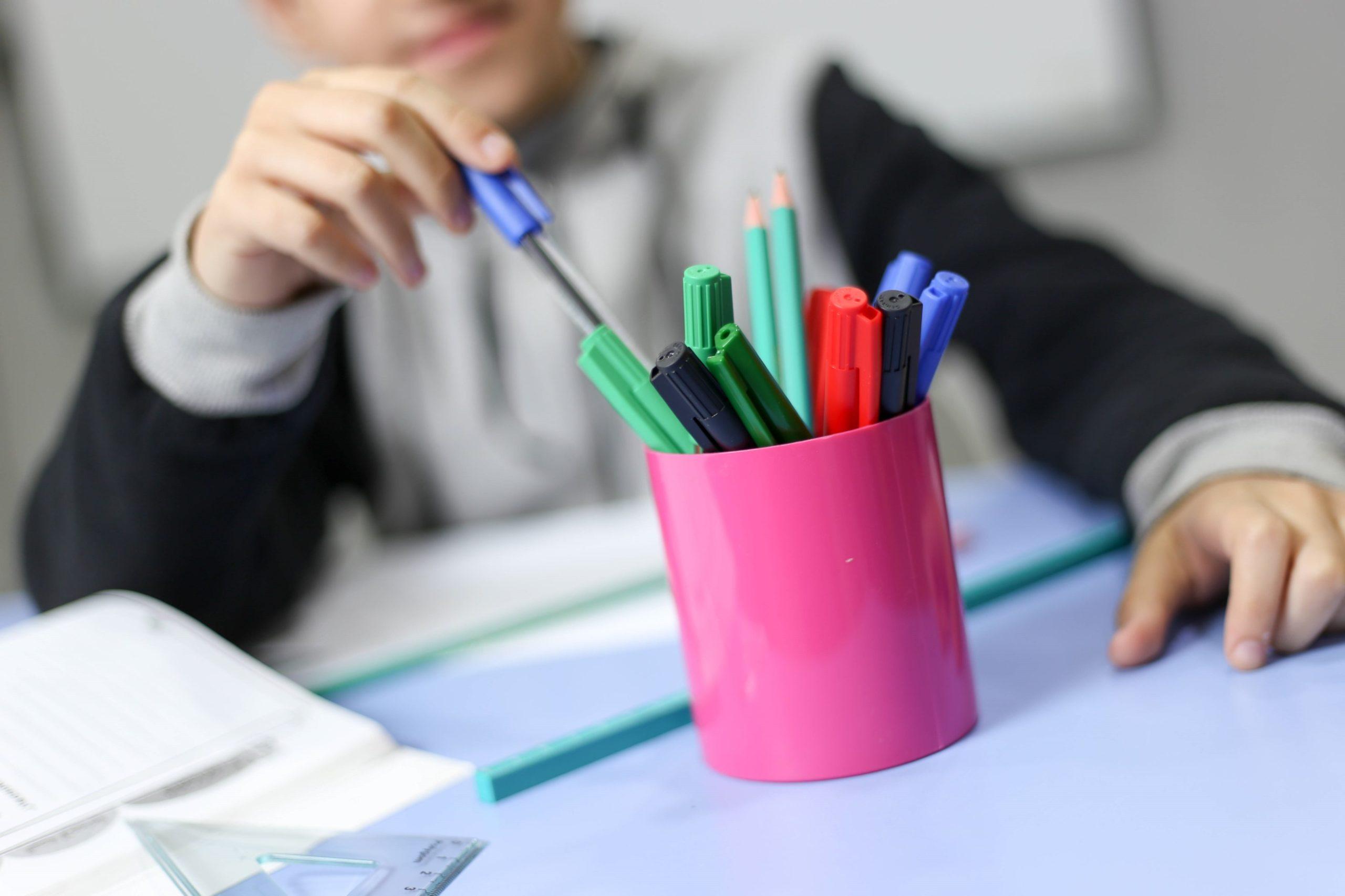 Pot à crayons PS